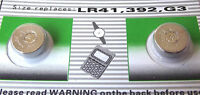 lot de 100 pile alcaline AG3 G3 LR41,392 1,55V