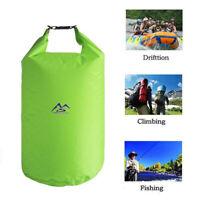 Water Resistant Waterproof Dry Bag Canoe Floating Boating Kayaking Camping Sack