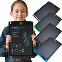 "12"" LCD Writing Pad Painting Drawing Tablet Message Doodle eWriter Board Kids"