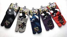 Nagomi Japanese Ninja Split Toe Tabi Socks, 25-28cm, Purple