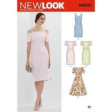 LOOK Sewing Pattern N6615 Misses' Dresses by Spotlight