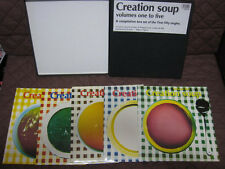 Creation Soup 5 Vinyl LP Box C86 Felt Primal Scream Momus Biff Bang Nikki Sudden