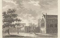 1784 Georgiano Estampado ~ Ely Casa Londres