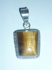 cristalloterapia PENDENTE ARGENTO 925 OCCHIO DI TIGRE pietra naturale gioiello 4
