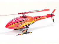 Xtreme Blade 130 X Red Complete Head & Tail Fuselage Canopy B130X31-RY