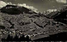 6679 Reichenbach Schweiz ~1950/60 Panorma Gesamtansicht alte Postkarte ungelauf.