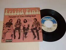 """FRIJID PINK - The House Of The Rising Sun - 1970 French 7"""" vinyl single"""