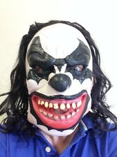 Kiss Demon Clown Mask Scary Psycho Fancy Dress Party