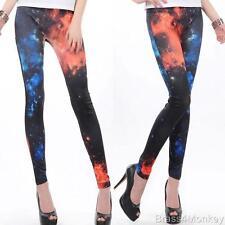 New Cosmic Supernova Galaxy Style Leggings Stretch Pants One Size 9211