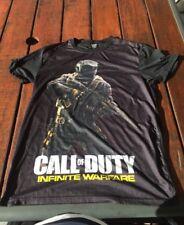 Call Of Duty Infinite Warfare BLACK  T-shirt Size L