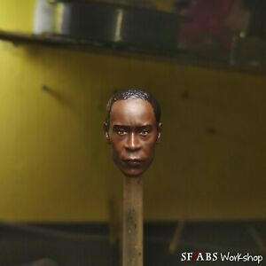 SFABS Avengers James Rhodes War Machine | 1/12 Scale Head Sculpt