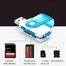 4 IN 1 Micro SD to USB Multi-Card Memory Card Adapter Reader K4Q9 128GB Sup Q4J4