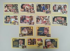 2021 Only Fools And Horses Set of 13 PHQ POSTCARDS USED FRONT
