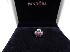 Pandora Sterling Silver Red Robin Bird Charm S925 ALE 791731 CZR