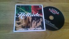 CD Punk Hellride - And The The Earth Moved (9 Song) Promo WHITE JAZZ cb