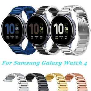 Metal Strap For Samsung Galaxy Watch 4 40/44 Classic Stainless Steel Watch Band
