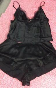 Victoria's Secret Nightwear Set (Shorts & Cami) Size M UK SELLER
