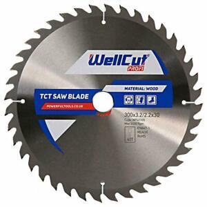 WellCut TCT Saw Blade Profi 300mm x 40T x 30mm Bore