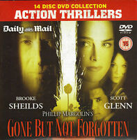 ACTION THRILLER = GONE BUT NOT FORGOTTEN star BROOKE SHEILDS = PROMO VGC