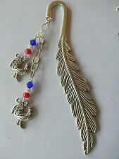 Roosters, Red White & Blue Sydney Roosters Rugby League bookmark
