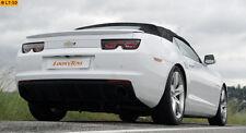 GESTEC Duplex Sportauspuff Chevrolet Camaro Cabrio LS3 L99 6.2l V8  je 1x114mm