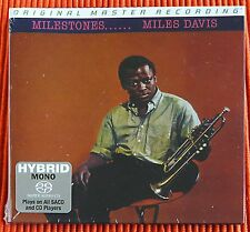 MILES DAVIS - MILESTONES   Hybrid Mono SACD MFSL  Numbered Limited . SEALED