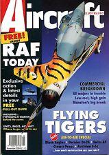 Aircraft Illustrated Magazine 2004 November Swiss Air Force,Austria,Dornier Do24