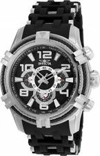 wachawant: Invicta 25553 Bolt 51mm Quartz Stainless Steel Black Dial Men's Watch