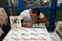 Foto Autografo Francesco Di Fulvio Asta di Beneficenza Sport Pallanuoto Signed