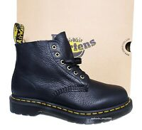 DR. MARTENS Men's 101 UB Black Pascal Ambassador Leather Boots Casual  Shoes