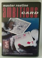 master routine ambitious card, Steve Branham, DVD, englischsprachig