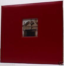 K&Company 12x12 Maroon Burgundy Scrapbook Album 10 Pages NWT