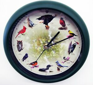 NEW Limited Edition 20th Anniversary 8 inch Singing Bird Clock