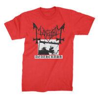 MAYHEM - Deathcrush RED T-shirt - Size Large - L - NEW - Black Metal Darkthrone
