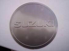 Emblem Zündungsdeckel Motordeckel Deckel original Suzuki GS500 97-08 silber