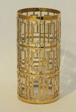 VINTAGE IMPERIAL GLASS SHOJI GOLD TUMBLER HIGHBALL 15 OZ