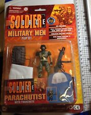 Vintage 1990's Military Men Playset Soldier Force Toy Soldiers Action Figures