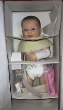 """21"""" Berenguer Baby Girl Doll~Special Edition~Blue Eyes~W/Box~Certificate"""