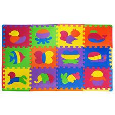 Kids Foam Floor Play Mat Baby Foam Mat Toddler Puzzle Mat Animals Playmat Toy