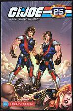 "Gi Joe 25th Anniversary A Real American Hero ""Tomax and Xamot"" Comic Book"