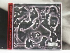 SLAYER - UNDISPUTED ATTITUDE CD NEAR MINT