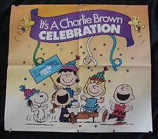 Peanuts ITS A CHARLIE BROWN CELEBRATION video poster original video promo SNOOPY