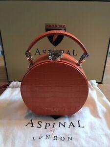 Aspinal Of London Hat Box Handbag BNIB