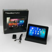 BlackBerry PlayBook 64GB, Wi-Fi, 7in - Black - Tested and Working