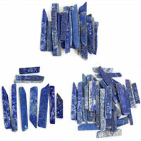 50G Rare Natural Lapis Quartz Crystal Blue Point Specimen Healing Stone