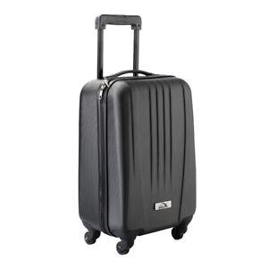 "Cabin Ryanair Easyjet 18"" ABS Geneva Trolley Bag Case Spinner Lightweight"