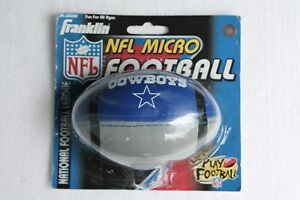 New in Package Dallas Cowboys 1998 Franklin NFL Micro Football