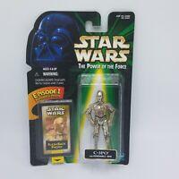 Star Wars POTF II Action Figure - C-3PO w/Removable Arm w/Flashback Photo