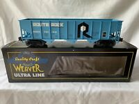 WEAVER ROCK ISLAND 3 BAY COAL HOPPER NEW FOR LIONEL MTH TRAIN CAR O GAUGE TOY
