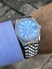 "Bezel Ghiera ""Diamonds"" Brillanti AFTERMARKET  *ROLEX DATEJUST 36mm* (Read info)"